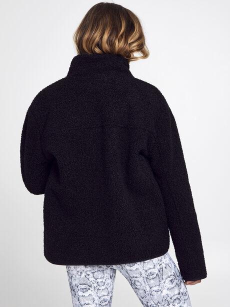 Sherpa Full Zip, Black, large image number 2