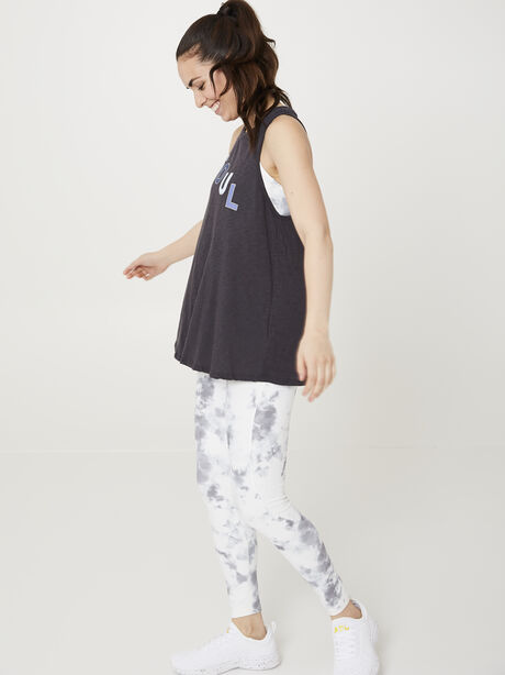 CHARCOAL SOUL TANK, Charcoal, large image number 1