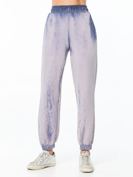 Oversized Brooklyn Sweatpant Navy Mix, Navy, large image number 0
