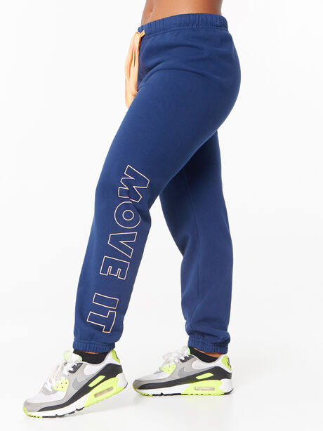 The Bender Ankle Sweatpant Insignia Blue, Blue, large image number 1