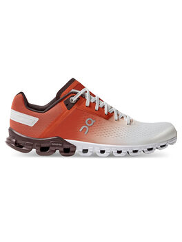Cloudflow 3.0 Womens Rust/White, Red/White, large