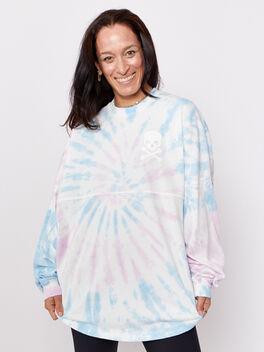 LOND ISLAND LS SHIRT, Tie Dye, large