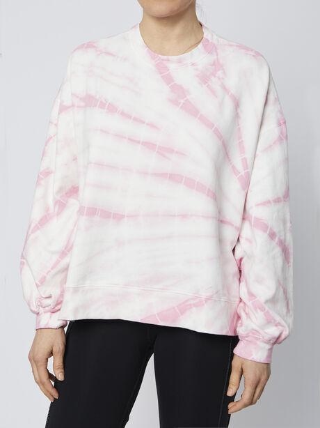 Neil Tie-Dye Sweatshirt, Pink, large image number 0