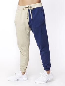 Half and Half Sweatpant, Sand, large