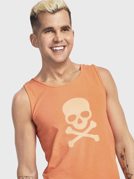 Pride Orange Tank Top, Orange, large image number 1