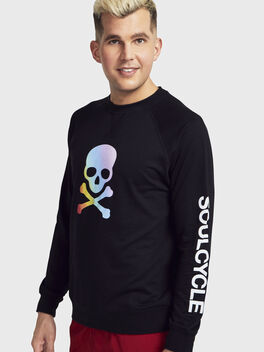 Pride Sweatshirt, Black, large