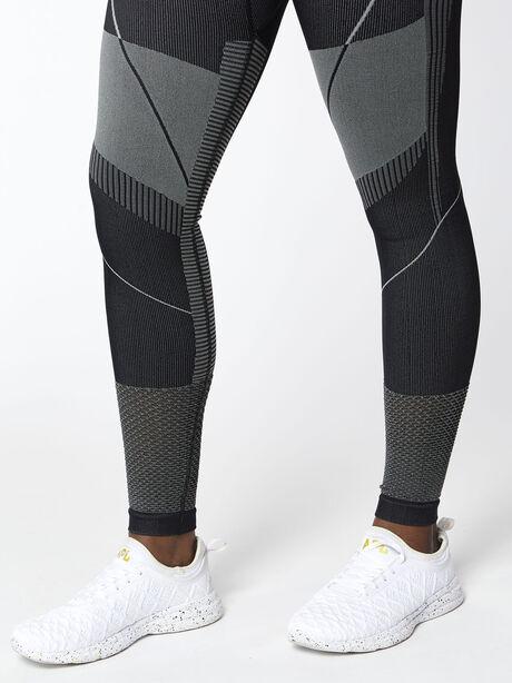 Seamless Contour Legging, Black, large image number 2