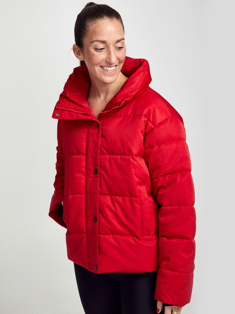 Puffer Jacket, Red, large image number 0