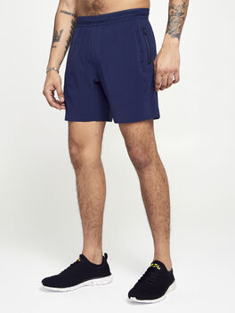 Navy Session Short, Navy, large