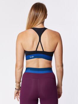 Workout Bra, Black, large