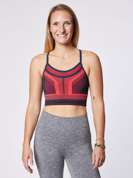 Cosmo Sports Bra, Pink, large image number 0