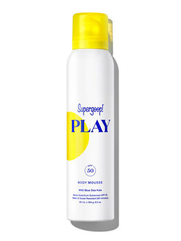 Super Power Sunscreen Mousse w, Clear, large