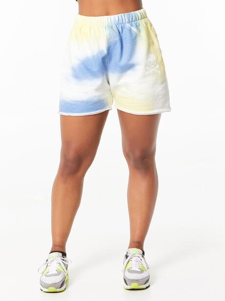 Zee Sweatshort Airbrush, Blue Tied, large image number 1