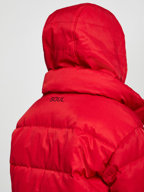 Puffer Jacket, Red, large image number 4