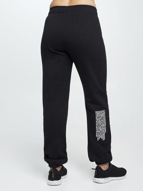 Mantra Super Slouch Sweatpants, Black, large image number 3