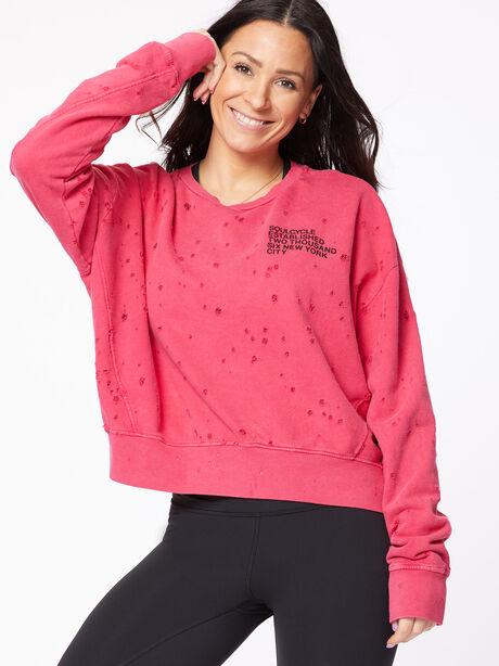 Mattie Sweatshirt Love Potion Pink, Red, large image number 2