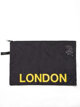 Denver Reusable Sweat Bag, Black, large