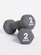 2 lb Weight Set, Grey, large