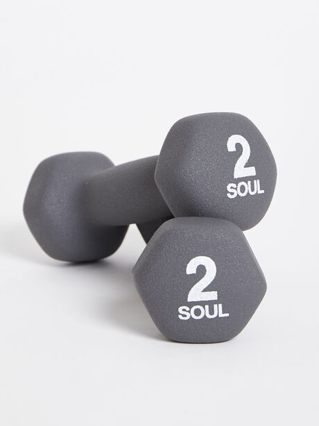 2 lb Weight Set, Grey, large image number 0