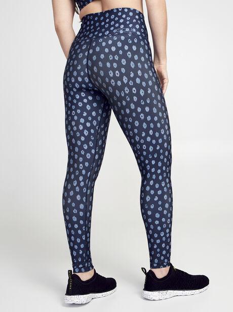 Ditsy Cheetah Milestone Legging, Blue Multi, large image number 2