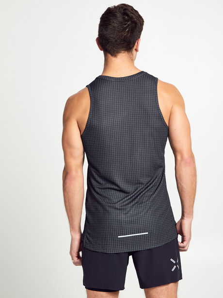 Miler Tech Tank Top, Black, large image number 2