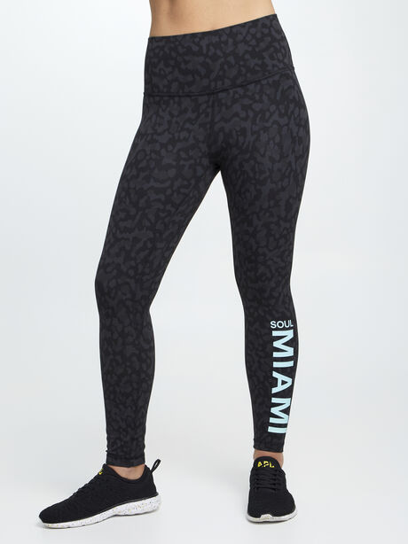 """Formation Camo Align HR Pant 25"""" MIAMI, Formation Camo Deep Coal Multi, large image number 0"""