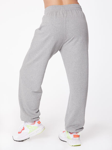 Loose Fit Zipper Pocket Sweatpant Grey Marl, Grey, large image number 2