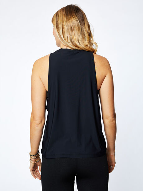 Lafayette Muscle Tank, Black, large image number 2
