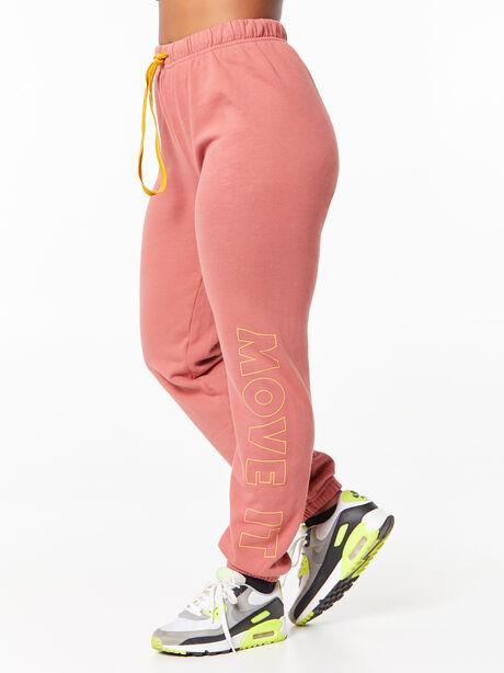 The Bender Ankle Sweatpant Marsala, Red, large image number 0