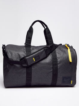 Novel Duffle Bag, Black, large