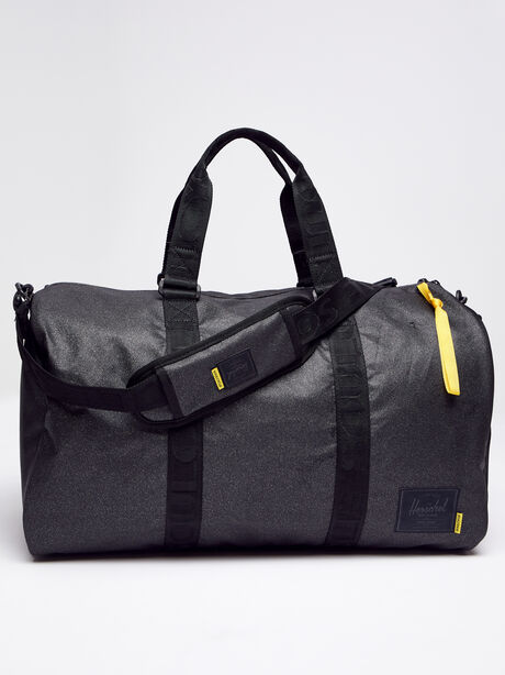 Novel Duffle Bag, Black, large image number 0
