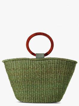 Imani Bag, Olive, large