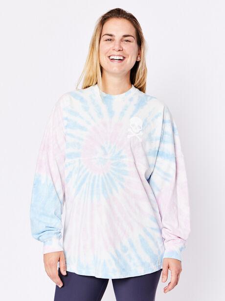 Vegas Long Sleeve Shirt, Tie Dye, large image number 0