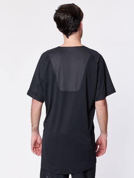 Nike Pro Shortsleeve Shirt, Black/Black/Anthracite/Dark Gr, large image number 1