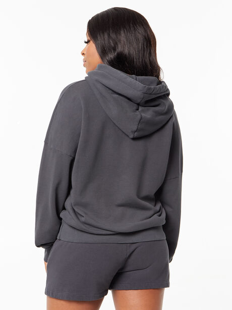 The Whip It Hoodie Faded Black, Faded Black, large image number 2