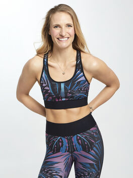 Californian Terrain Bra Blue/Purple, Blue/Purple/Teal, large