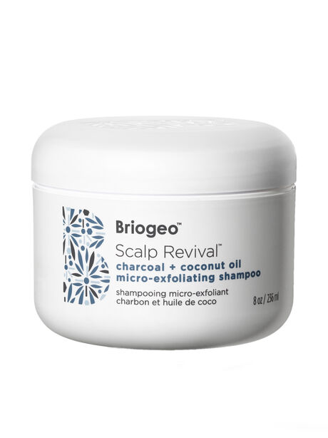 Scalp Revival Charcoal + Coconut Oil Micro-Exfoliating Scalp Scrub Shampoo, Clear, large image number 0