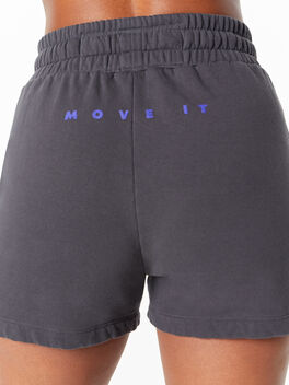 The Knock Out Short Short Faded Black, Faded Black, large