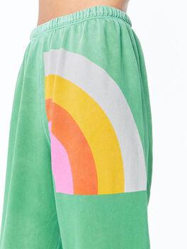 Super Rainbow Letsgo Supervintage OG Sweatpant School Green, Green, large