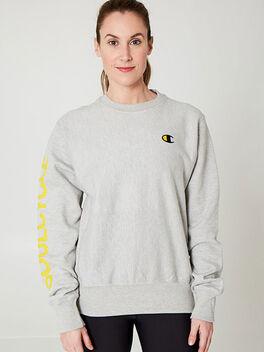 Unisex Crewneck Sweatshirt, Heather Grey, large