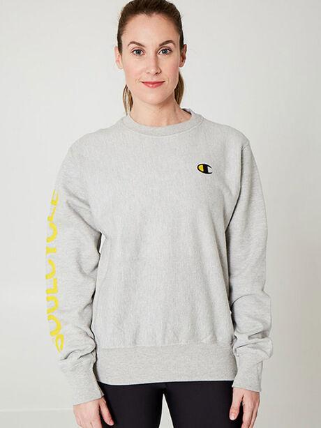 Unisex Crewneck Sweatshirt, Heather Grey, large image number 0