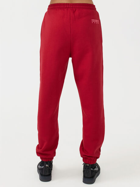 Courtside Trackpant Chilli Pepper, Red, large image number 3