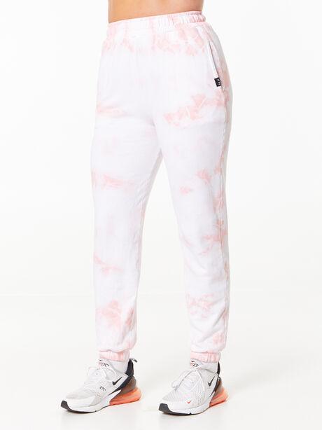 Sunday Sweat Jogger Rose Cloud, White/Pink, large image number 0