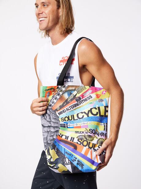Mind Altering Fitness Tote Bag, Multi Color, large image number 0
