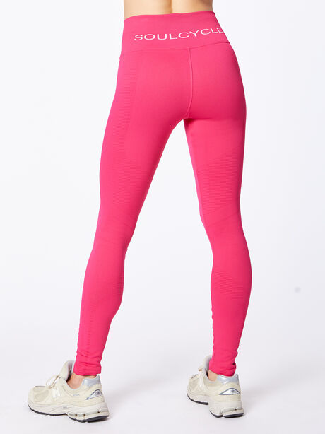 One By One High-Rise Legging Punch Pink, Hot Pink, large image number 3