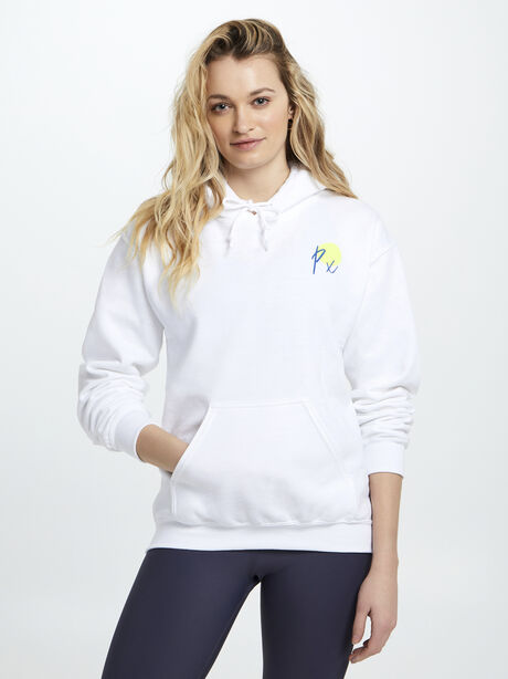 Sun Lover Hoodie, White, large image number 0