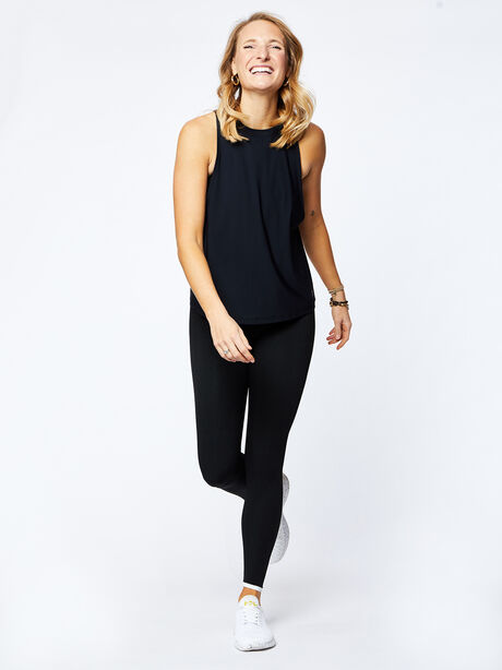 Lafayette Muscle Tank, Black, large image number 3