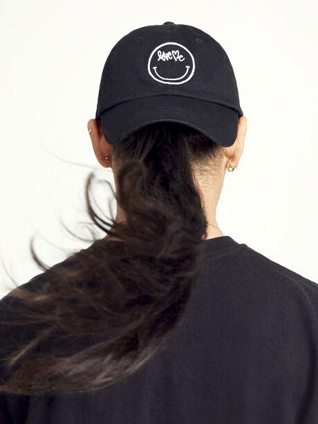 Curtis Kulig Black Love Me Hat, Black, large image number 0