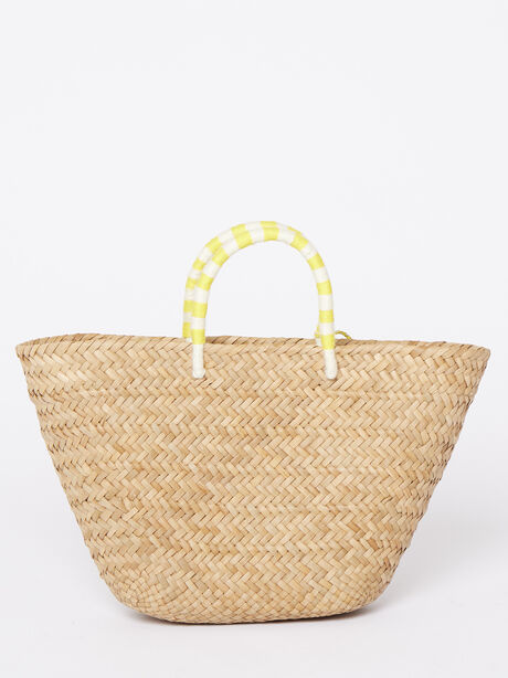 Exclusive St. Tropez Bag With Soul, Yellow/White, large image number 1