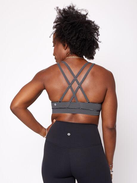 Energy Bra Hype Stripe, Hype Stripe Black White, large image number 1